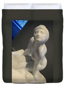 Rodin's Figure Of A Women Or The Sphinx Duvet Cover