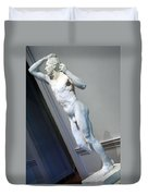 Rodin's The Vanguished -- 2 Duvet Cover