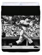 Roger Maris Hits 52nd Home Run Duvet Cover