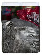 Roll Tide  Duvet Cover by Kathy Clark