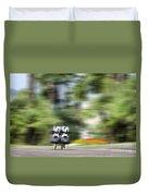 Rollerblade Duvet Cover