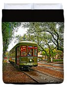 Rollin' Thru New Orleans Painted Duvet Cover