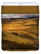 Rolling Hills Duvet Cover by Robert Bales