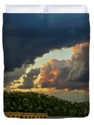 Storm Clouds Rolling In Duvet Cover