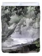 Rolling Waters Duvet Cover