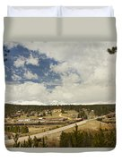 Rollinsville Colorado Duvet Cover