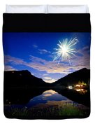 Rollinsville Yacht Club Fireworks Private Show 52 Duvet Cover