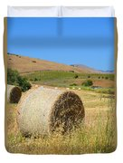 Roll'n The Hay Duvet Cover