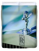 Rolls-royce Hood Ornament -782c Duvet Cover