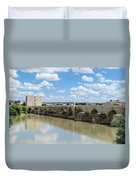 Roman Bridge Of Cordoba Duvet Cover