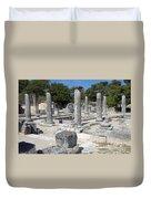 Roman Columns Duvet Cover