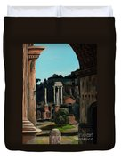 Roman Forum Duvet Cover