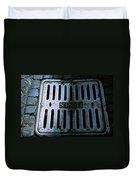 Roman Manhole Cover Duvet Cover