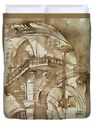 Roman Prison Duvet Cover