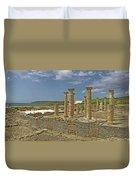 Roman Ruins Of Baelo Claudia Duvet Cover