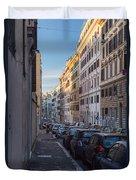 Roman Street Duvet Cover