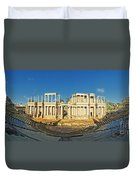 roman theatre in Merida Duvet Cover