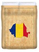 Romania Duvet Cover