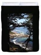 Romantic California Coast Duvet Cover