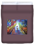 Romantic Interlude Duvet Cover
