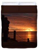 Romantic Setting Duvet Cover
