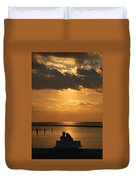 Romantic Sunrise Duvet Cover