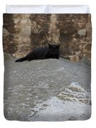Rome Cat Duvet Cover