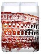 Rome Colosseum Duvet Cover