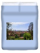 Rome Rooftop Duvet Cover