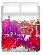 Rome Skyline Duvet Cover