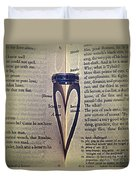Romeo And Juliet  Duvet Cover by Stelios Kleanthous