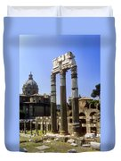 Romr Forum Columns Duvet Cover