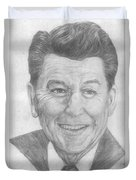 Ronald Reagan Duvet Cover