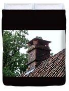 Roof Tops 2 Duvet Cover