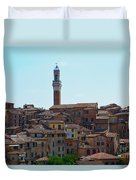 Roofs Of Siena Duvet Cover