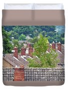 Rooftop Communication Duvet Cover