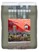 Rooftop Patio Duvet Cover