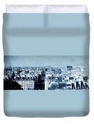 Rooftops Of Paris - Selenium Treatment Duvet Cover