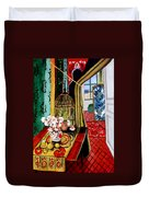 Room With A View After Matisse Duvet Cover