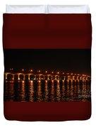 Roosevelt Bridge Panorama Duvet Cover