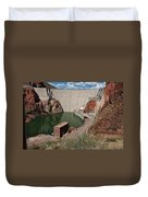 Roosevelt Dam Duvet Cover