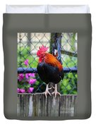 Roost Ruler Duvet Cover