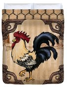 Rooster II Duvet Cover