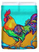 Rooster Perch Duvet Cover