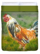 Rooster Rules Duvet Cover