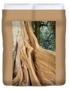 Root Of A Tree Nature Background Duvet Cover
