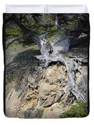 Rooted On The Edge Duvet Cover