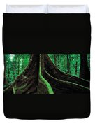 Roots Of A Giant Tree, Daintree Duvet Cover