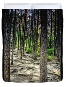 Roots Of Trees Duvet Cover