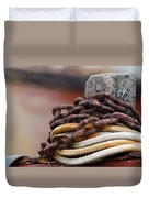 Rope And Chain Duvet Cover